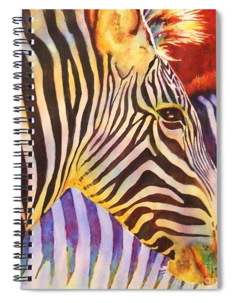 Stripes Spiral Notebook
