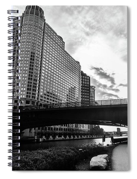 Strolling In The Chi Spiral Notebook