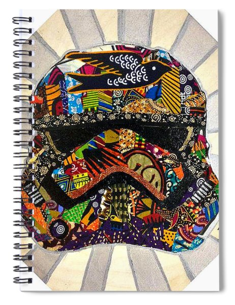 Strom Trooper Afrofuturist  Spiral Notebook