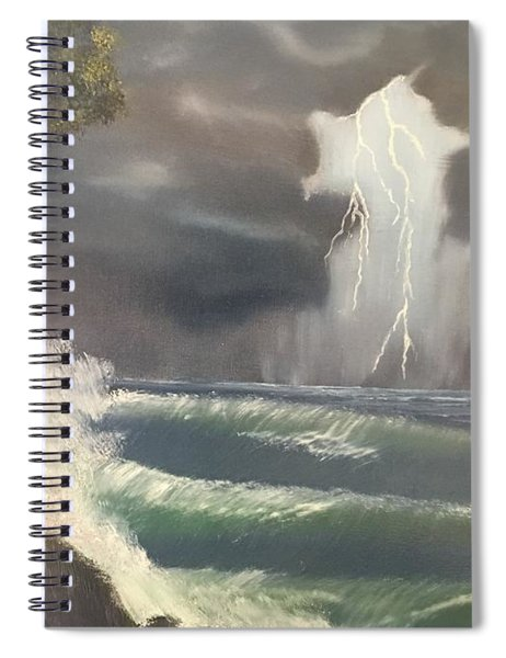 Strong Against The Storm Spiral Notebook