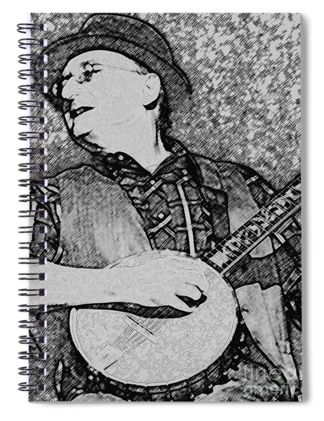 Strumming My Banjo Spiral Notebook