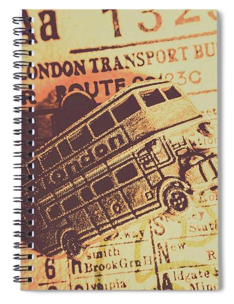 Stub Station Spiral Notebook
