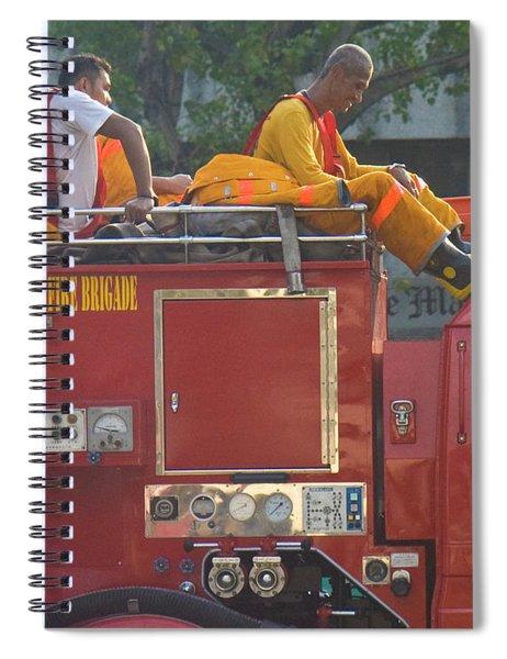 Stuck In Traffic Spiral Notebook