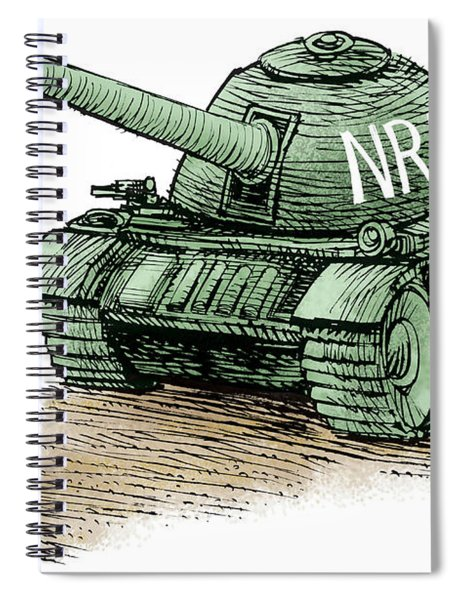 Students Vs The Nra Spiral Notebook