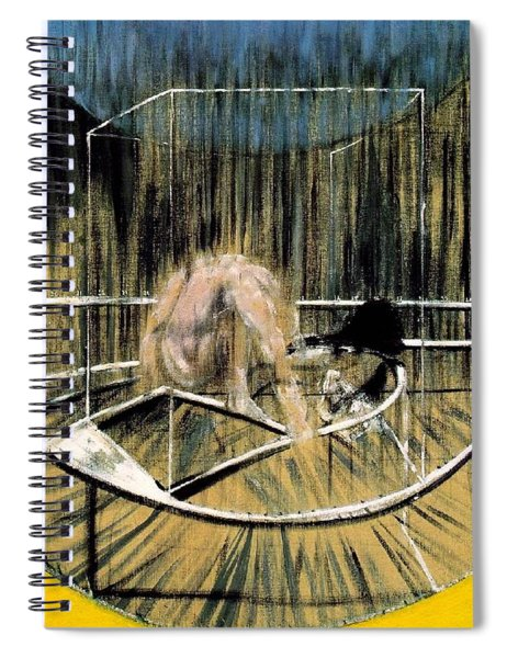 Study For Crouching Nude Spiral Notebook