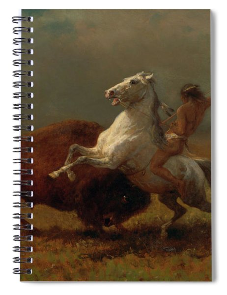 Study For The Last Of The Buffalo Spiral Notebook