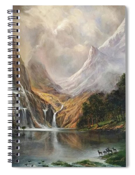 Study In Nature Spiral Notebook
