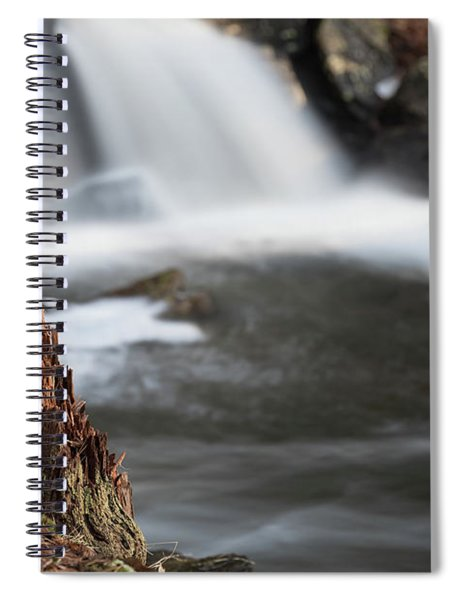 Stumped At The Secret Waterfall Spiral Notebook