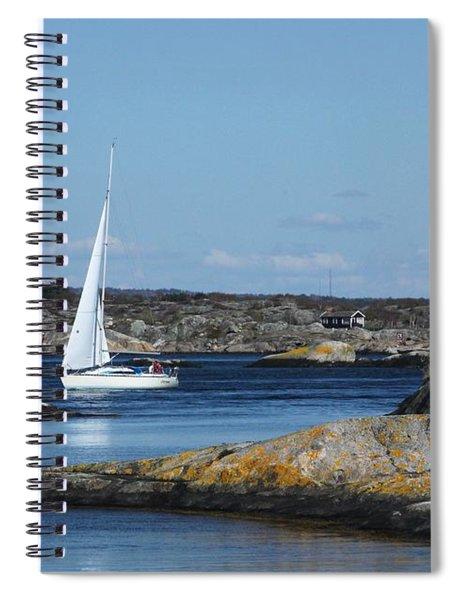 Styrso, Sweden Spiral Notebook