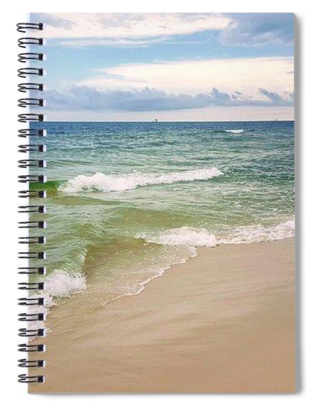 Sublime Seashore  Spiral Notebook