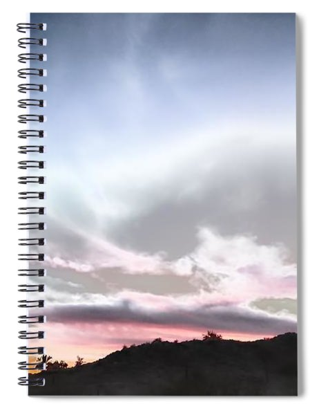 Submarine In The Sky Spiral Notebook