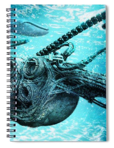 Submarine Spiral Notebook