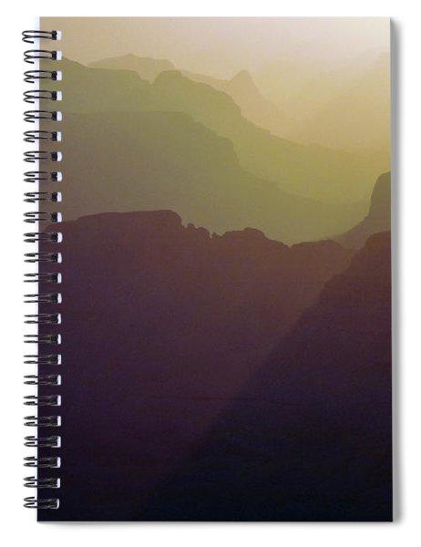 Subtle Silhouettes Spiral Notebook