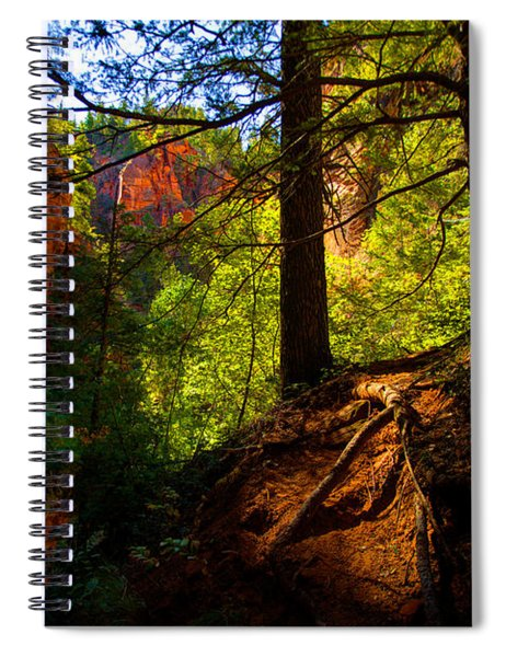 Subway Forest Spiral Notebook