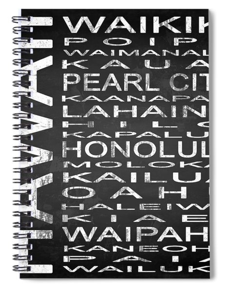 Subway Hawaii State Square Spiral Notebook