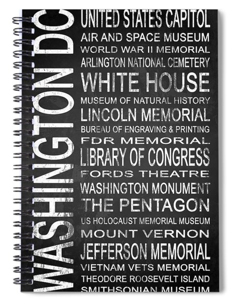 Subway Washington Dc 2 Spiral Notebook