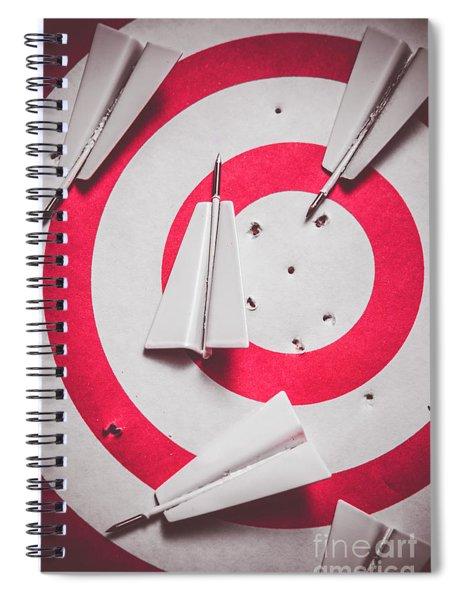 Success And Failures. Business Target Spiral Notebook