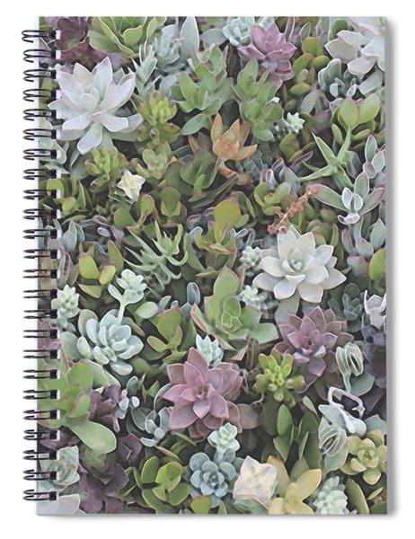 Succulent 8 Spiral Notebook