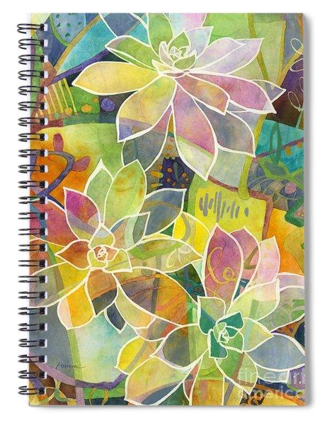 Succulent Mirage 1 Spiral Notebook