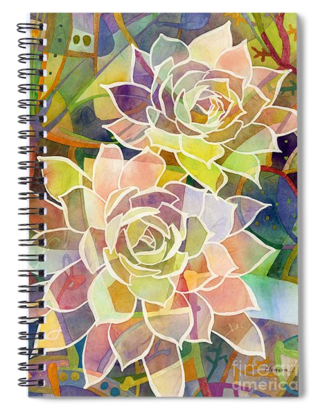 Succulent Mirage 2 Spiral Notebook