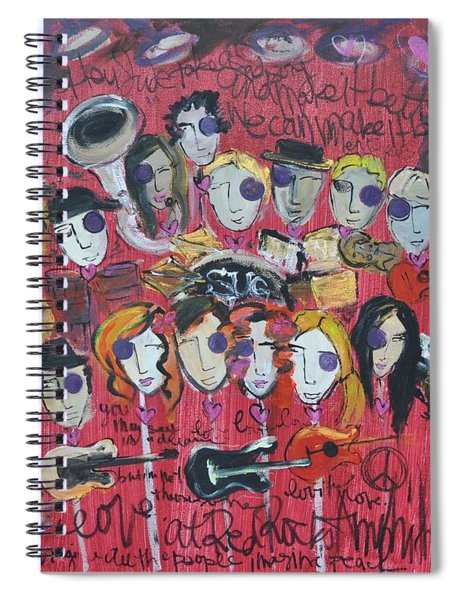 Sug At Red Rocks Amphitheater 2010 Spiral Notebook