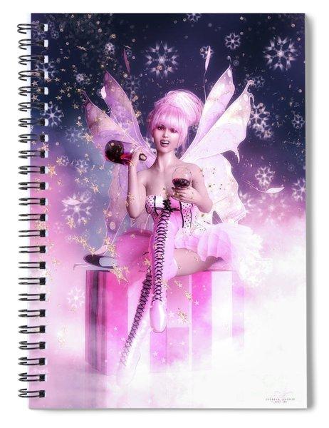 Sugar Plum Fairy Spiral Notebook