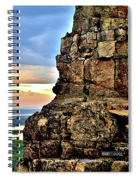 Sugarloaf Sunrise Spiral Notebook