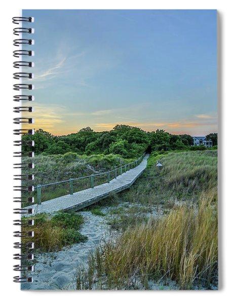 Sullivan's Island Evening Spiral Notebook