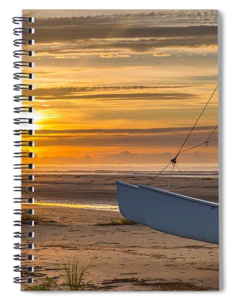 Sullivan's Island Sunrise Spiral Notebook