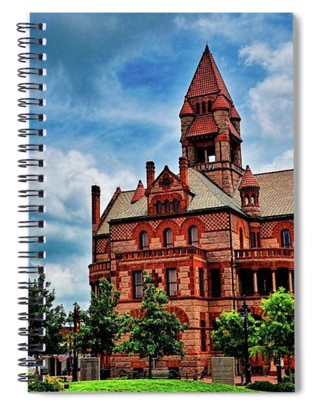 Sulphur Springs Courthouse Spiral Notebook