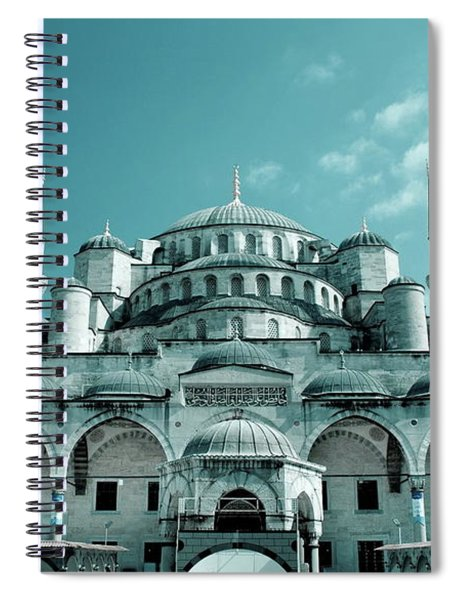 Sultan Ahmed Mosque Spiral Notebook