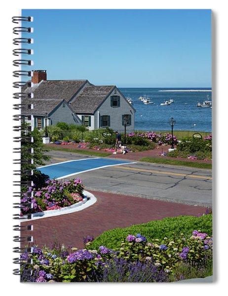 Summer At The Chatham Bars Inn Cape Cod Spiral Notebook