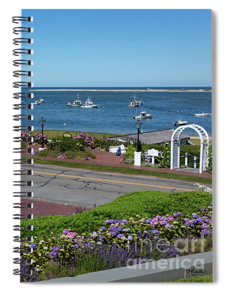 Summer At The Chatham Bars Inn Cape Cod Spiral Notebook