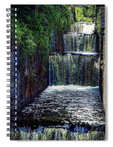 Summer At The Five Combines Spiral Notebook