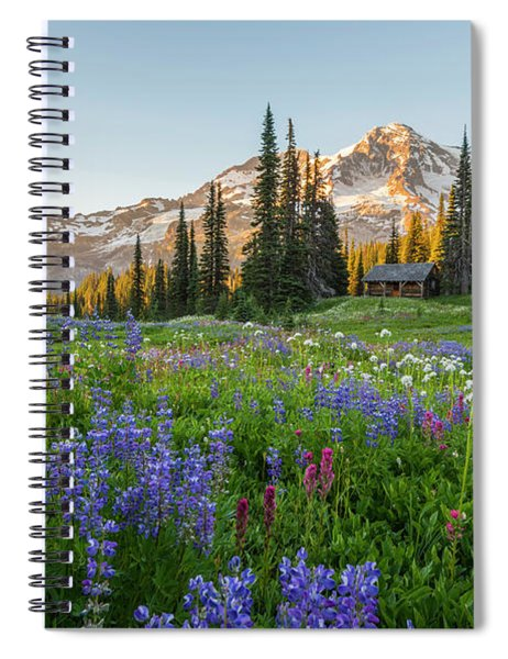 Summer Beauty At Indian Henry's Hunting Ground Spiral Notebook