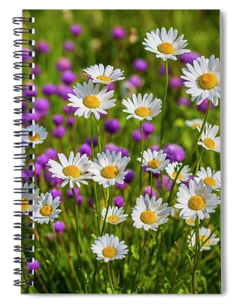 Summer Blooms Spiral Notebook