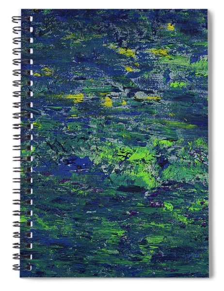 Summer Blue Serenity Spiral Notebook