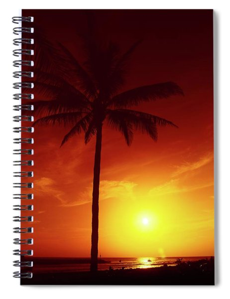 Summer By The Sea Spiral Notebook