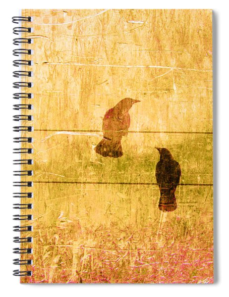 Summer Crows Spiral Notebook