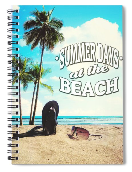 Summer Days Spiral Notebook