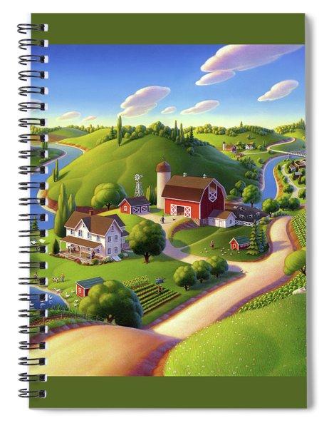 Summer Days Spiral Notebook