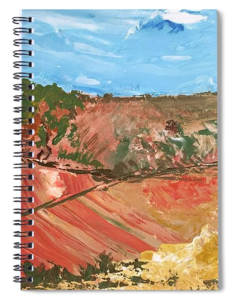 Summer Fields Spiral Notebook