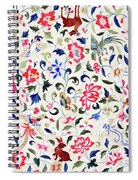 Summer Flora And Fauna Spiral Notebook