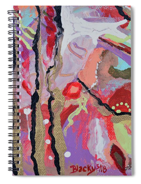 Longing For Summer Heat Spiral Notebook