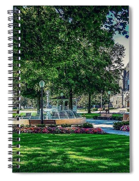 Summer In Juckett Park Spiral Notebook