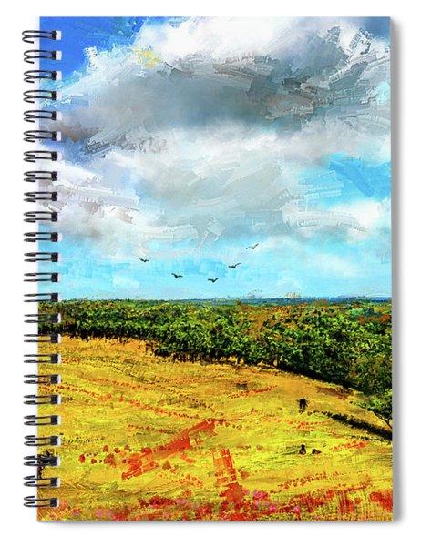 Summer Interlude -missouri Art Spiral Notebook