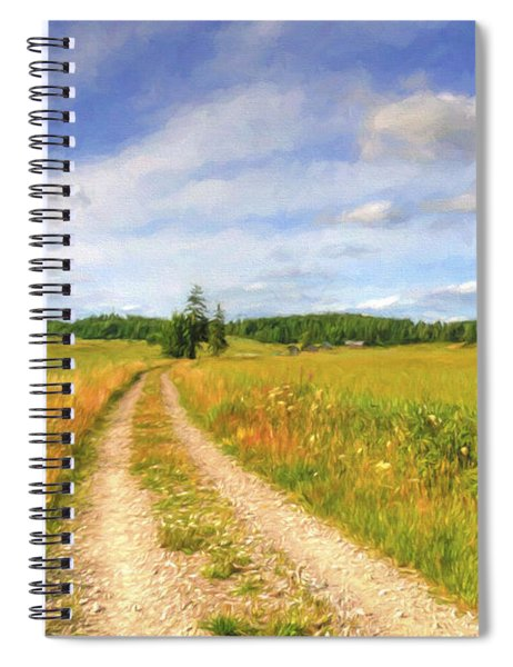 Summer Meadows Spiral Notebook