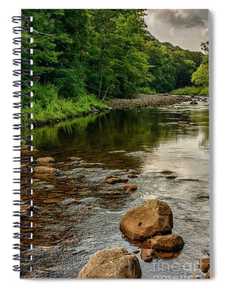 Summer Morning Williams River Spiral Notebook