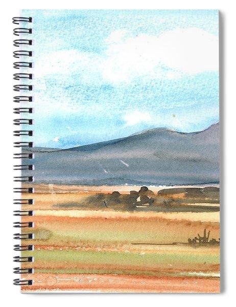 Summer Mountains Spiral Notebook