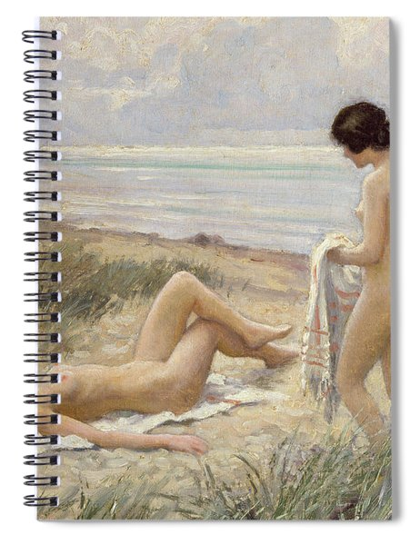 Summer On The Beach Spiral Notebook